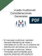 5.2 Mercado Multinivel