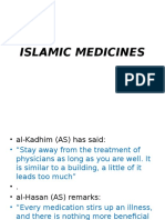 (4th Meeting) Islamic Medicines