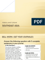 southeast asia history and culture