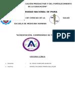 Historia Clínica Rotacion Con Dr. Moya Charcape Anselmo