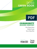 2010 Green Book Community Resource Directory