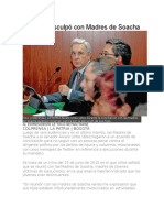 Uribe Se Disculpó Con Madres de Soacha