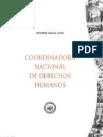 Informe anual 2005