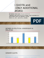 Gender Quota and Women-Only Additional Seats (Woas)-20170331