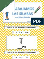 conciencia silábica y habilidades fonológicas