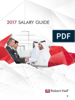 Robert Half Middle East Salary Guide 2017