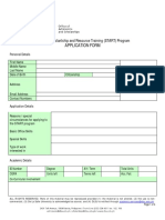 Dlsu-start Application Form