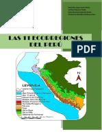 Informe de Las 11 Ecorregiones