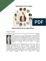 10 Apariciones de La Virgen