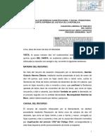 Jurisprudecia Responsabilidad Contractual.