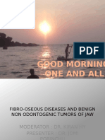 Fibro-osseous Lesions and Benign Tumors of the Jaw