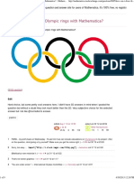 How Can I Draw the Olympic Rings With Mathematica