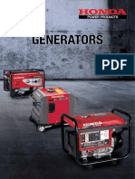 Honda Power Products (Generator Brochure 07-2016).pdf