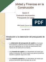 Contabilidad y Finanzas - Sesion 5