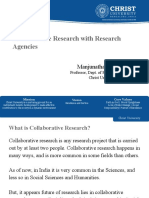 Collaborative Research - MMShettigar