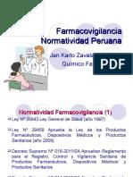 02 Normatividad Farmacovigilancia Perú ESEF 2014 a octubre.ppt