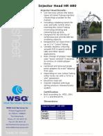 08 Injector Head HR680 WSG Coil