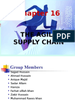 The Agile Supply Chain Final
