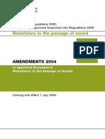 Building Regs Part E 2004