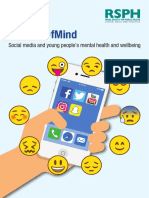 RSPH-YHM Social Media & Mental Health Report