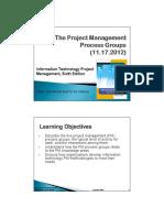 PM Lecture - PM Process