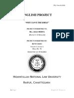 English Proj Sem 2
