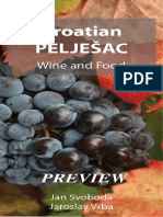 Croatian Peljesac Wine and Food - Preview of the Book