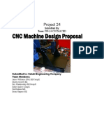 Design of CNC Machine