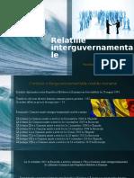 Relațiile interguvernamentale