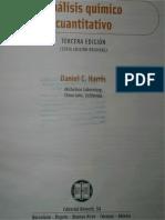 Daniel Harris Analisis Quimico Cuantitativo, 3era Edicion 2007