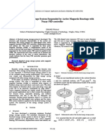 A Flywheel Energy Storage System Suspended by Active Magnetic Bearings With Fuzzy PID Controller