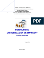 Outsourcing Economia
