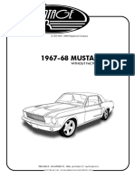 1967-68 Mustang Without Factory Air