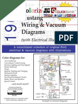 1967 Mustang Wiring Diagram Vacuum Diagram Pdf Demo Color Electrical Wiring