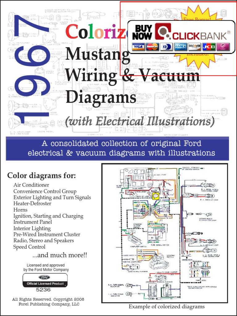 40 Mustang Wiring Diagram Vacuum Diagram PDF Demo   Color ...