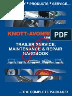 KF082 - Trailer Service Maintenance Repair Handbook