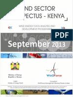 Wind Sector Prospectus Kenya