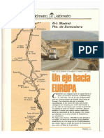 Revista Tráfico - nº 2 - Agosto de 1985. Reportaje Kilómetro y kilómetro