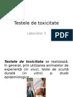 3 Testele de Toxicitate