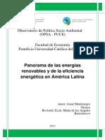 Panorama de Las Energias