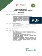 Programa Confer en CIA Regional Sector Privado y Prevencion de La Violencia