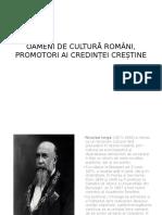 Oameni de Cultura Romani