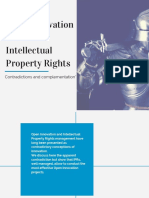 Open Innovation and Intellectual Property Rights