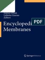 Enrico Drioli Lidietta Giorno Editors Enc Yclopedia of Membranes