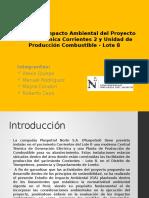 Estudio de Impacto Ambiental Del Proyecto Central Térmica