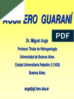 Acuífero Guaraní-Miguel Auge