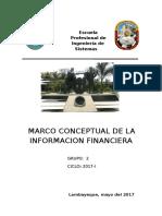TEMA 3 Marco Conceptual de La Información Finaciera