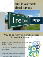 Corporate investments in fiscal havens