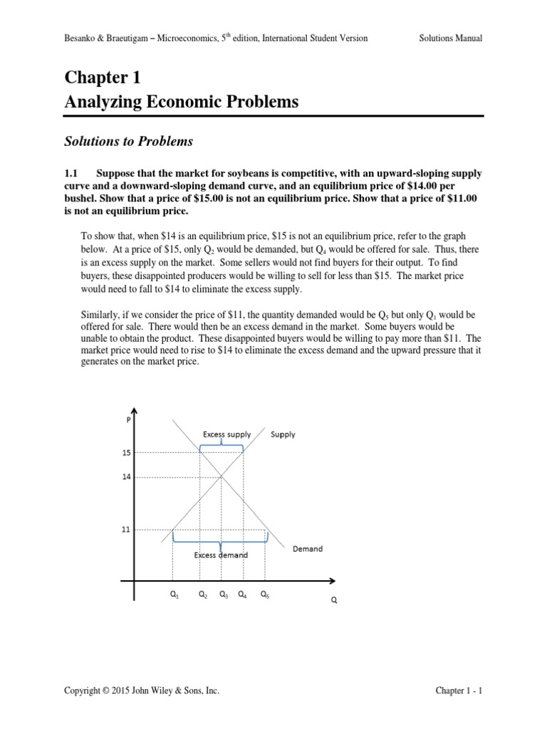 Besanko 2nd Edition Microeconomics Study