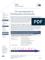 EU's New Approach to Funding Peace & Security